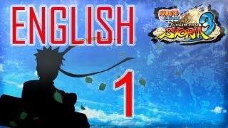 Naruto Shippuden ultimate ninja storm 3 walkthrough part 1 ENGLISH let's play Hero Path PS3 Gameplay