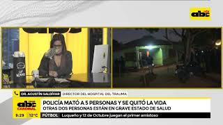 Masacre en Capiatá: confirman que heridos siguen con vida