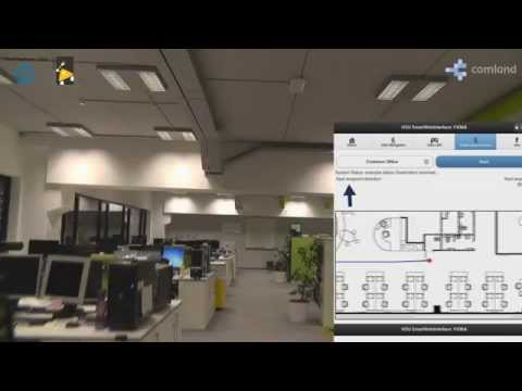 Mobile Navigation Through an Indoor Environment: Demonstrating System Integration by Composition