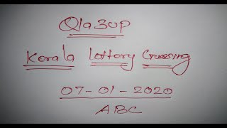kerala lottery last three number tips | 07.01.2020