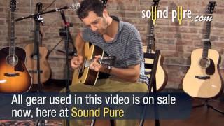 Wes Lambe Brazilian Rosewood Acoustic Guitar Demo