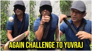 SachinTendulkar accepted Yuvraj Singh Challenge | AGAIN CHALLENGE TO YUVRAJ | TFPC - TFPC