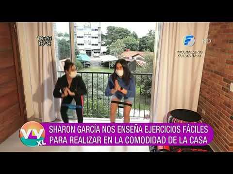 Entrenamos en casa con Sharon García