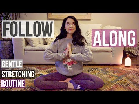 connectYoutube - Gentle Stretching Routine! Follow Along =)