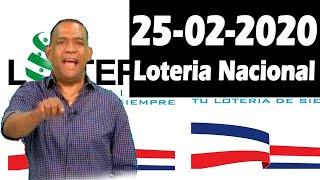 Resultados y Comentarios Loteria Nacional  25-02-2020 (CON JOSEPH TAVAREZ)