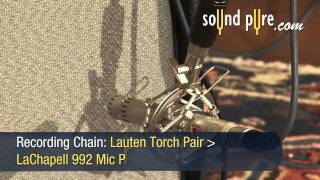 Lauten Audio Torch ST-221 Microphones - How to Record Acoustic Guitar