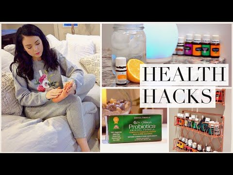 connectYoutube - 12 Health Hacks! How to fight sickness!