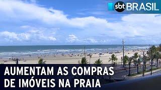 Pandemia acelera compra de imóveis no litoral do Brasil | SBT Brasil (06/03/21)