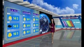 El Clima de Bolivisión: Pronóstico del 13 de abril del 2021