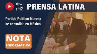López Obrador gana respaldo popular en elecciones intermedias de México