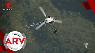 Dos Iron Man de la vida real volaron por los cielos de China   Al Rojo Vivo   Telemundo