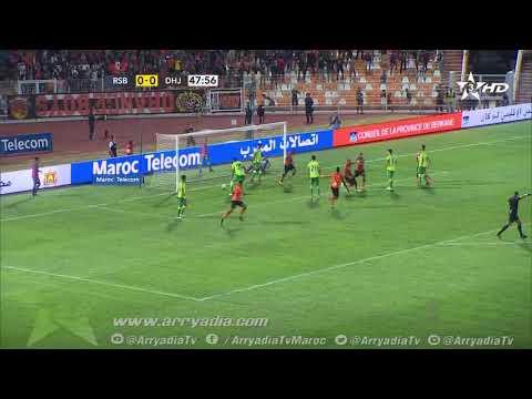 كأس العرش: نهضة بركان 1-0 الدفاع الحسني الجديدي هدف العربي الناجي
