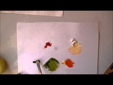 Tutoriel peinture l 39 huile apprendre le fauvisme for Peinture a lhuile couleur argent