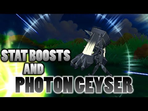 connectYoutube - Does Necrozma's Photon Geyser Count Stat Boosts In Pokemon Ultra Sun and Moon?