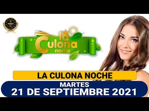 Resultado CULONA NOCHE del martes 21 de septiembre de 2021
