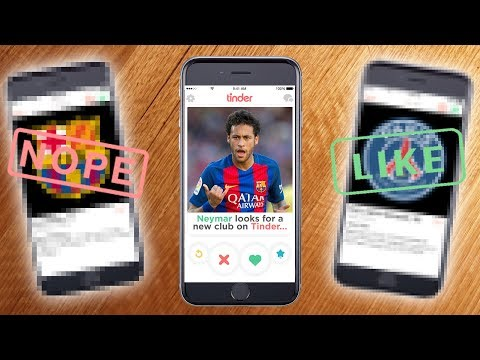 Neymar Signs For New Club On Tinder...