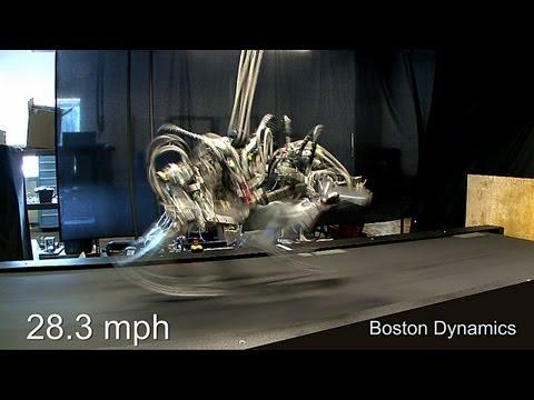 Cheetah Robot runs 28.3 mph; a bit faster than Usain Bolt