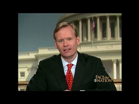 John Dickerson's first Sunday in the Face the Nation anchor chair