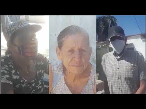 AYUDANDO A LOS QUE MAS LO NECESITAN TODOS SOMOS CUBANO CESTA TEMPORADA DE AYUDA