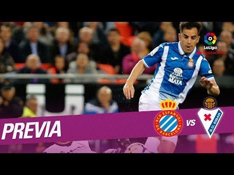 Previa RCD Espanyol vs SD Eibar