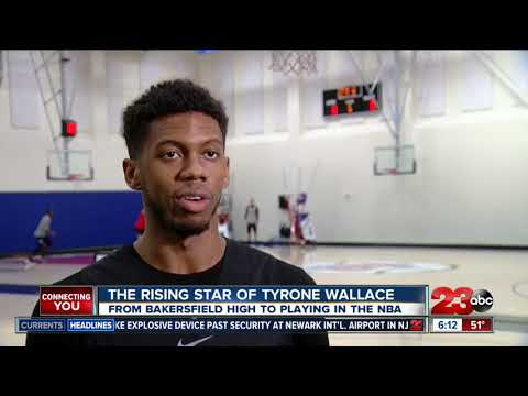 connectYoutube - The Rise of Tryone Wallace - From Bakersfield To The NBA