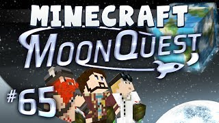 Minecraft Galacticraft - MoonQuest Part 65 - Dome Trouble
