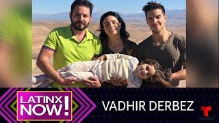 Vadhir Derbez le enseñó una grosería a su hermana Aitana | Latinx Now! | Entretenimiento