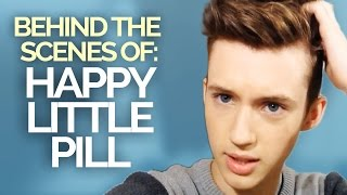 BEHIND THE SCENES OF THE HAPPY LITTLE PILL MUSIC VIDEO (DAY 1)