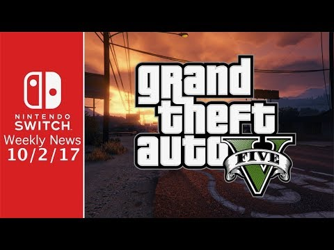 GTA 5 on Switch?, NEW Sonic Forces Info, and MORE! - SWN 10/1/17