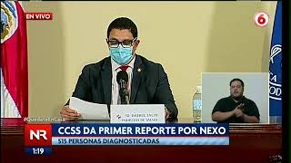 Costa Rica registra 18 fallecimientos por Covid-19  en un día