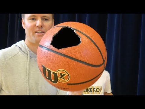 connectYoutube - What's inside a Wilson X Basketball?