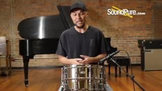 Ludwig 8x14 Supralite Steel Snare Drum Quick n' Dirty