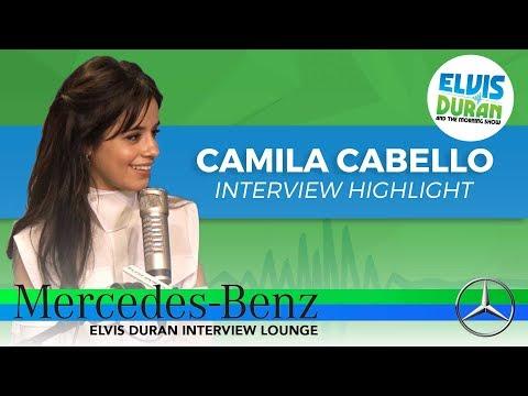 connectYoutube - Camila Cabello Loves Ikeas's Meatballs | Elvis Duran Inteview Highlight