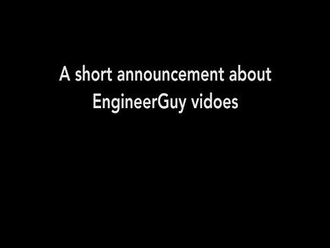 connectYoutube - A short announcement about EngineerGuy videos (August 2017)