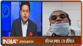 क्या Delhi में कोरोना से बढ़ते मामलों से डरना जरूरी है? जानें  GTB हॉस्पिटल के डॉ राजेश कालरा से - INDIATV