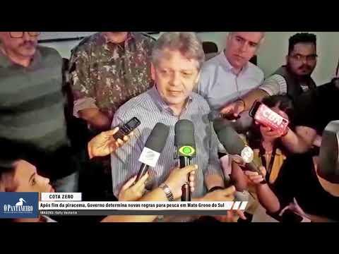 Após fim da piracema, Governo determina novas regras para pesca em Mato Grosso do Sul