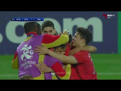 اهداف مباراة الدحيل 3 - 1 ذوب آهن الإيراني   عصبة أبطال آسيا 2018