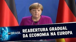Alemanha e França criam fundo para lidar com impactos econômicos da pandemia | SBT Brasil(18/05/20)