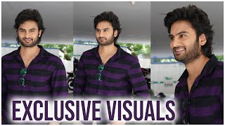 Actor Sudheer Babu Spotted At V Movie Promotions | Sudheer Babu EXCLUSIVE Visuals | TFPC Exclusive - TFPC