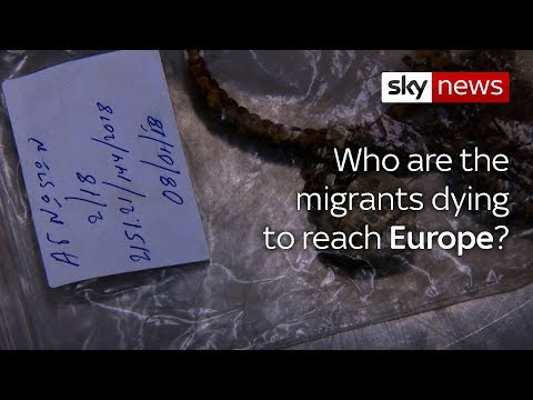 Dignity for dead victims of the migration crisis