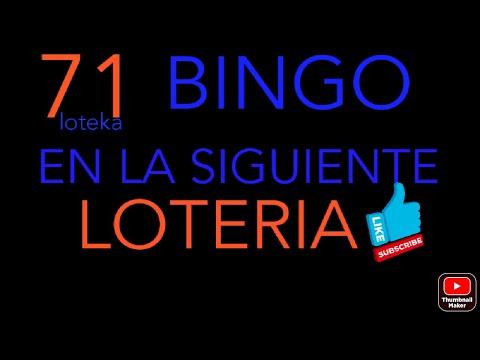 NUMEROS PARA HOY(71)BINGO EN LA LOTEKA