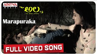 Marapuraka   Full Video Song | Ala Video Songs | Bhargav Kommera, Shilpika, Malavika | Sarat Palanki - ADITYAMUSIC