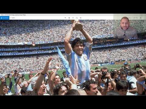 Fallece Diego Armando Maradona (La mano de Dios)