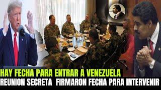 NICOLAS MADURO NO ESPERABA ESTA RESPUESTA INTERNACIONAL - LA REUNIÓN MAS IMPORTANTE VENEZUELA FECHA