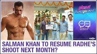 Salman Khan eager to complete shoot for Radhe: Your Most Wanted Bhai & to resume shoot in August? - ZOOMDEKHO