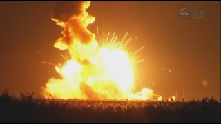 Tomorrow Daily 077: The Antares rocket explosion, ferrofluid art, and hydrogel robot muscles