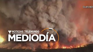 Evacuación en masa de turistas en Australia por causa de los incendios   Noticias Telemundo