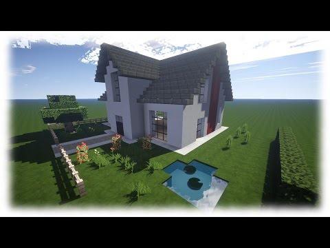 Download youtube to mp3 minecraft moderne luxus villa mit for Modernes redstone haus