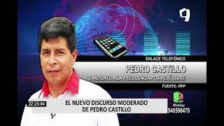 ¿Por qué Pedro Castillo ha cambiado su discurso