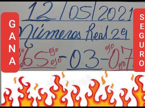 NUMEROS PARA HOY 12/05/2021DE MAYO PARA TODAS LAS LOTERIAS